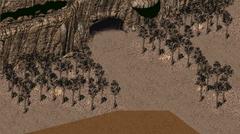 FO2 Random encounter Cave 4 entrance