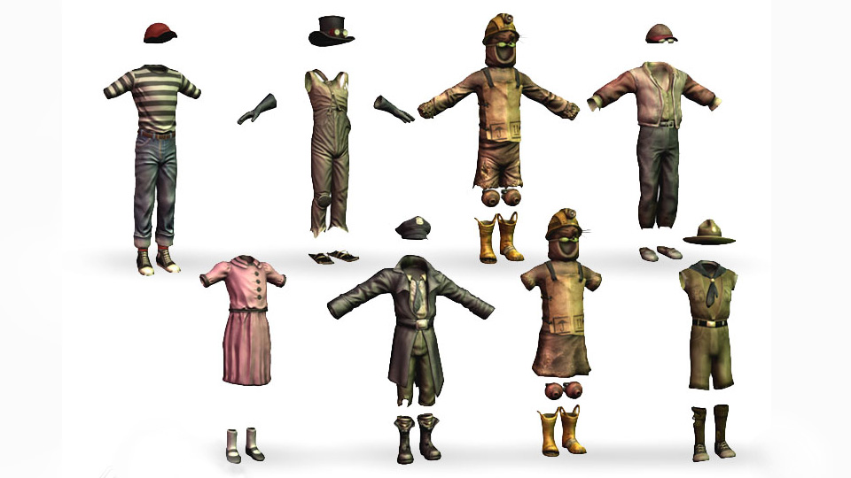 FO3 Kids outfits