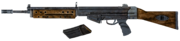 FO3 assault rifle blown up