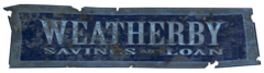 FO4 Weatherby Saving & Loan Logo