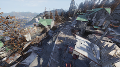 FO76 Pleasant valley cabins overall