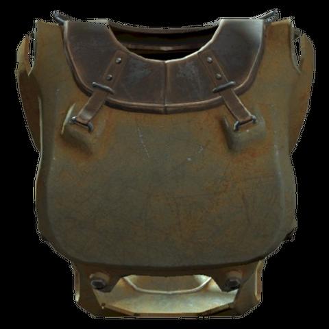 A T-51 piezonucleic power armor torso