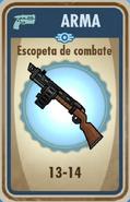 FoS Escopeta de combate carta