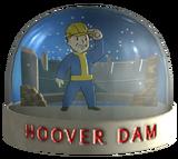 Snow globe - Hoover Dam