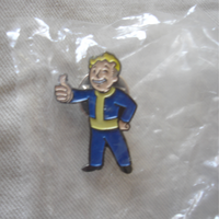 Vault boy lapel pin