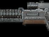 Prototype Gauss rifle