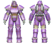 FO4CC T-51 power armor purple