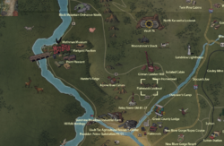 Flatwoods Lookout map