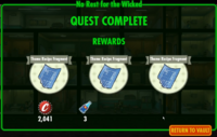 No Rest for the Wicked rewards