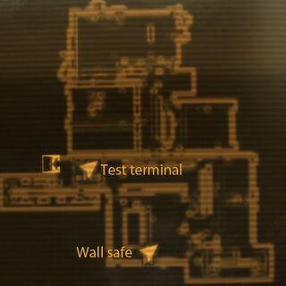 Карта тестової кімнати