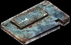 Blue Pass Card