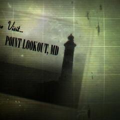 Листівка «Приїжджайте в Пойнт-Лукаут»