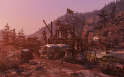 FO76 Crater watchstation