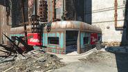 Fens Cafe entrance