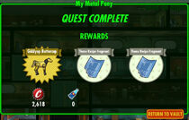 FoS My Metal Pony rewards