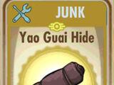 Yao guai hide (Fallout Shelter)