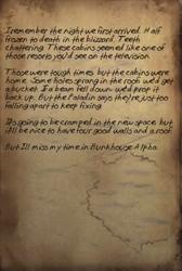 Goodbye Alpha note