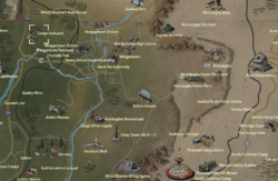 Gorge Junkyard map