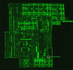 Gunners Plaza basement map