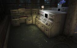 FO4FH Nucleus Command Center Captain Wabash's terminal