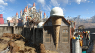 FO4NW King Cola's Castle Tower1