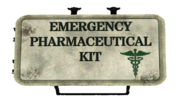 FO4 Loot Medkit Chems Wall Dirty