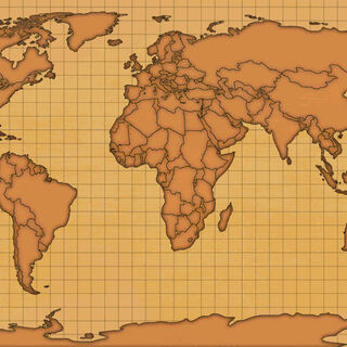 Prewar world map in Fallout 4 use for Globe