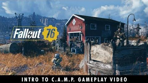 Fallout 76 – A New American Dream! An Intro to C.A.M.P. Gameplay Video