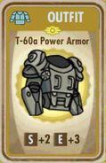 FoS T-60a Power Armor Card