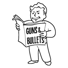 Icon Guns and Bullets Fo4