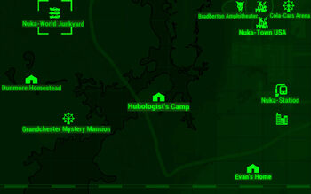 Fo4 Nuka World Map.Nuka World Junkyard Fallout Wiki Fandom Powered By Wikia