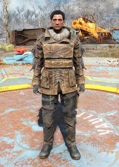 Railroad armored coat