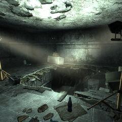 Нижній рівень, вхід в тунель
