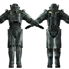 Brotherhood of Steel T-45d power armor