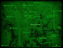 FO4 Хижина самогонщика (карта мира)