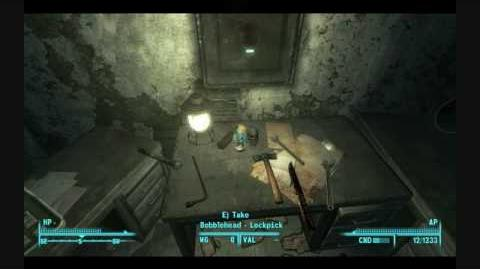 Fallout 3 Bobblehead -Lockpick-