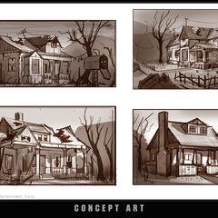 """概念图:""""房屋"""""""