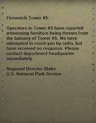 Department notice LT