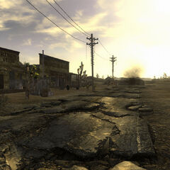 <i>Fallout: New Vegas</i> pre-release screenshot