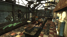 FO3 Grisly Diner interior 01