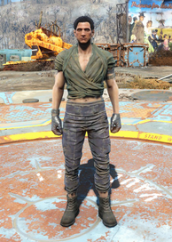 Fo4 Wrap and Ragged Pants