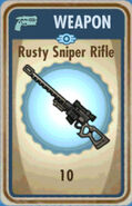 FoS Rusty Sniper Rifle Card