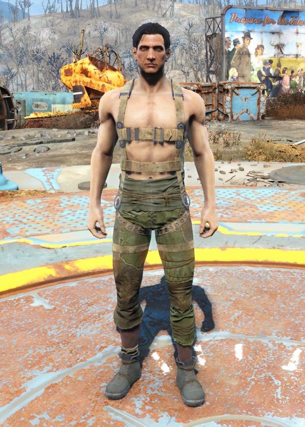 harness fallout 4