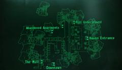 Pitt Uptown local map