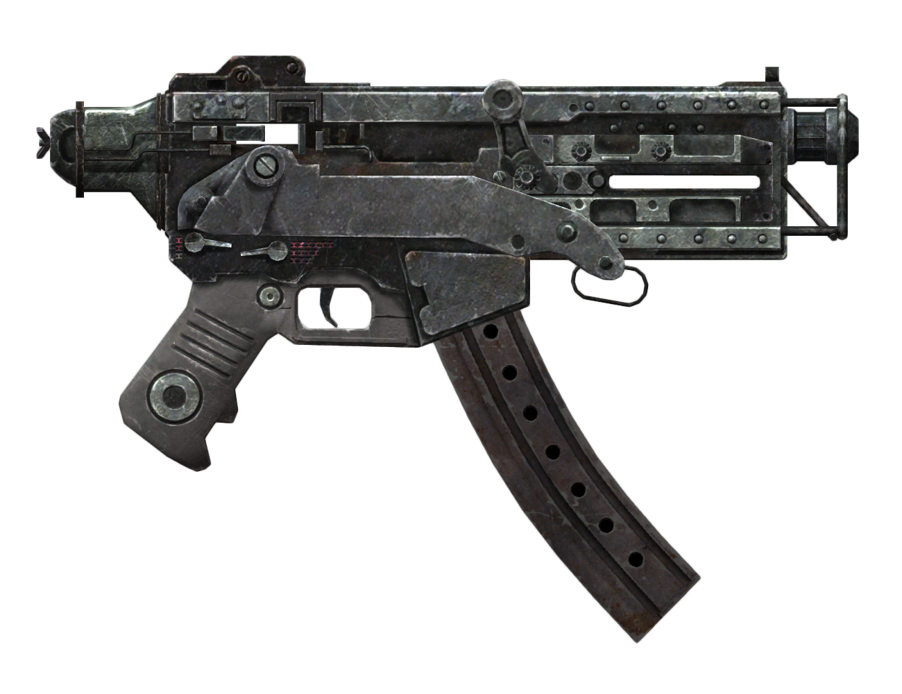 10mm SMG with extended mag
