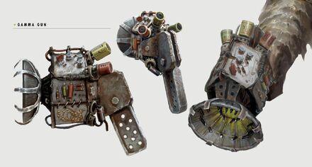 Art of Fallout 4 Gamma gun
