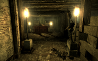Blackhall Manor basement