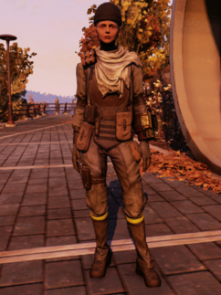 FO76WL Insurgent Outfit Female