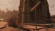 FO76 Ewart Ave sign
