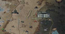 FO76 Red Rocket Mega Stop wmap